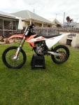 KTM 250 sxf